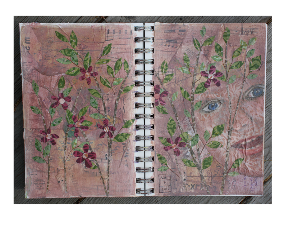 Art Journal | Burgundy Morning.jpg