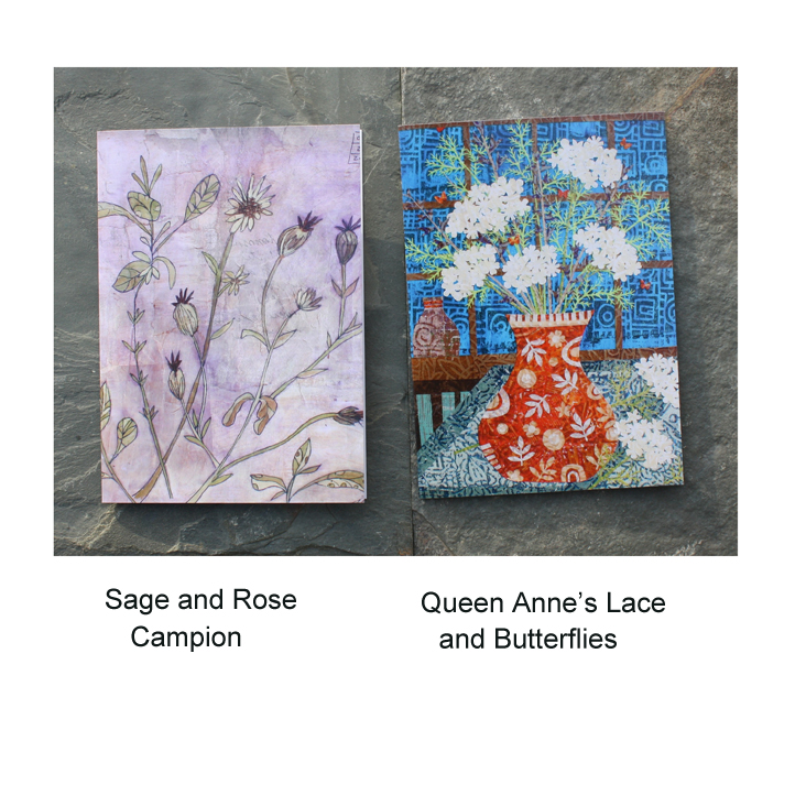Sage and Rose Campion, QAL and Butterfly Cards.jpg