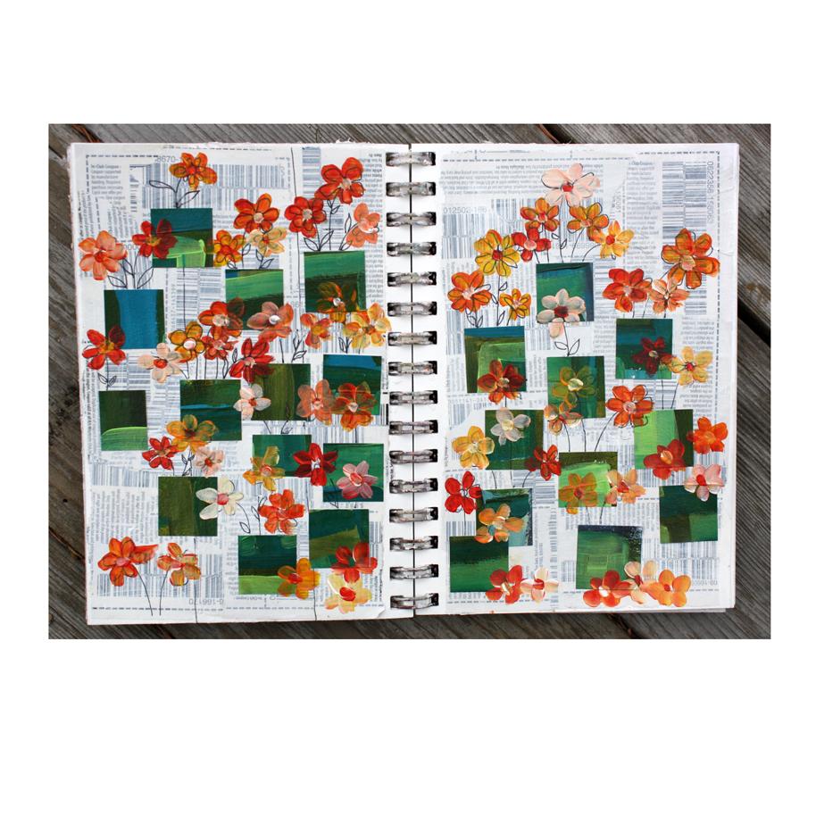 Apparently I needed flowers art journal.jpg