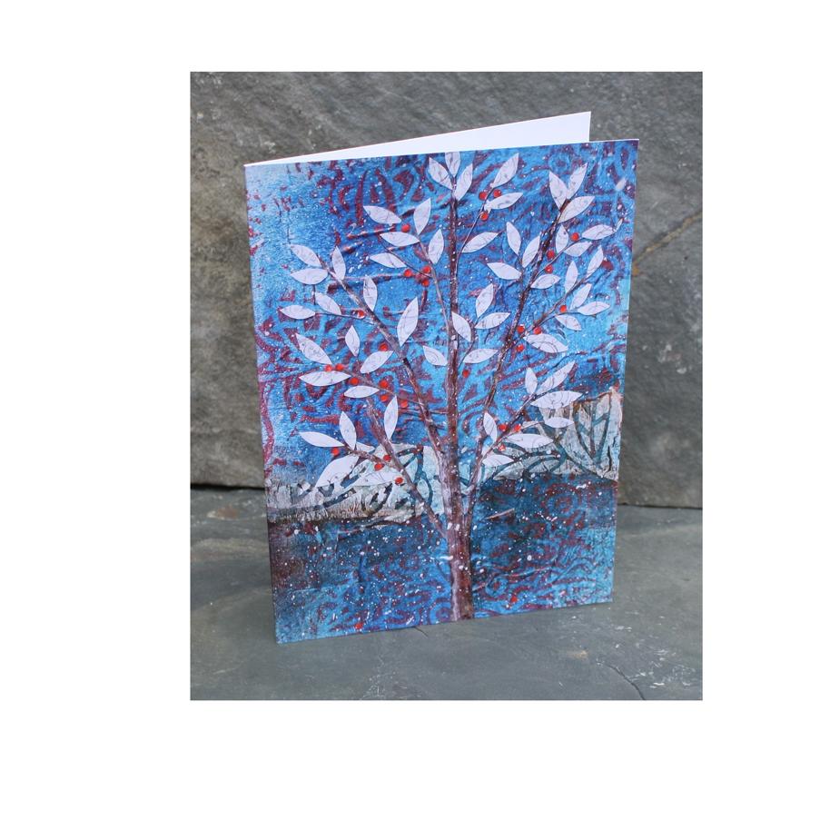 Winter Tree and Red Berries card.jpg