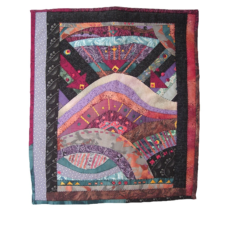 Acadia Mountain Quilted Wall-Hanging