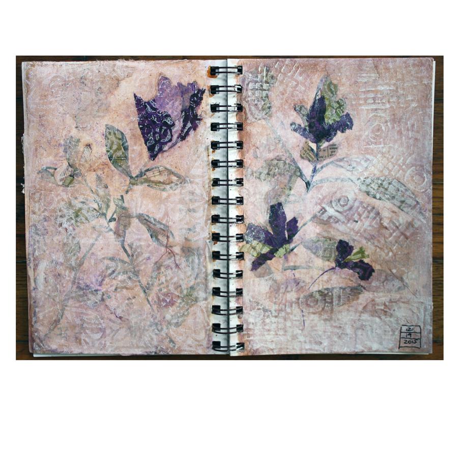 Purple flower journal pages.jpg