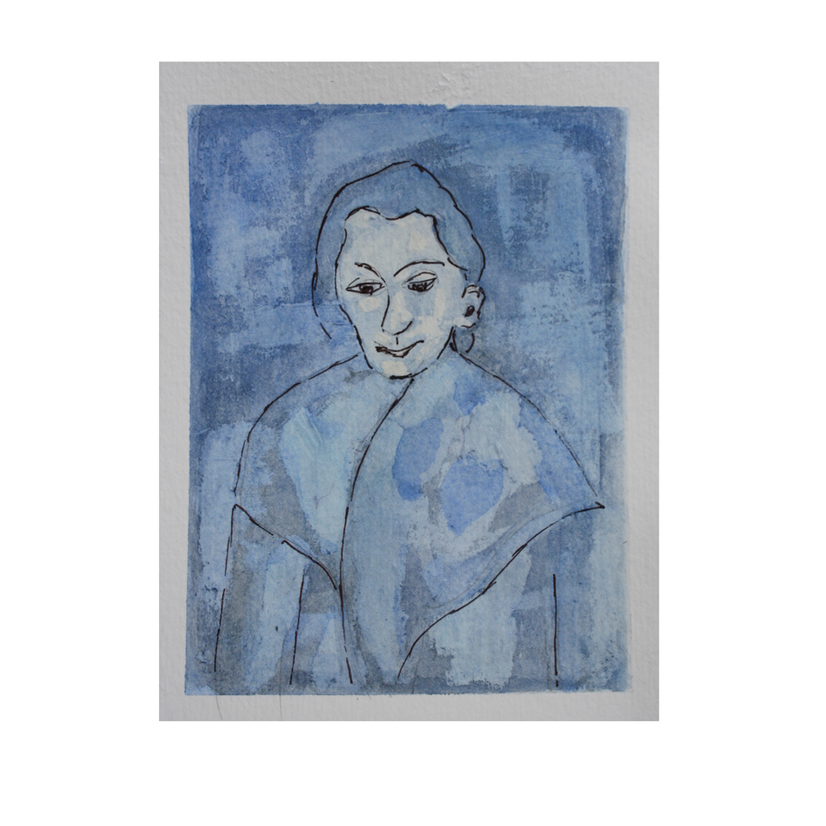 Picasso's Woman in a Shawl study.jpg