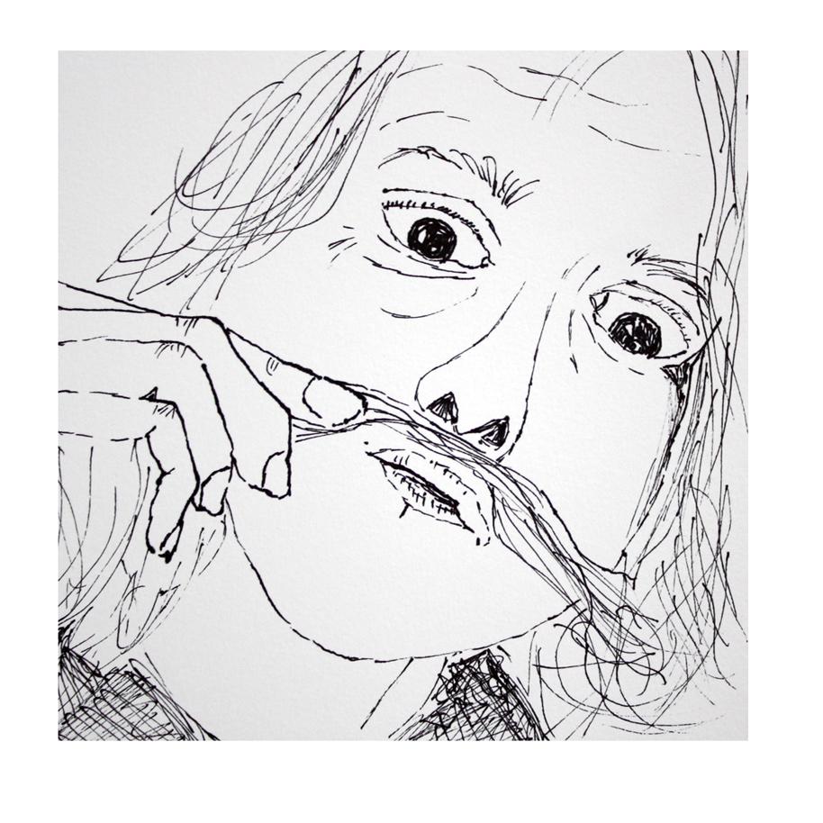 Self-Portrait Sketch with Mustache.jpg