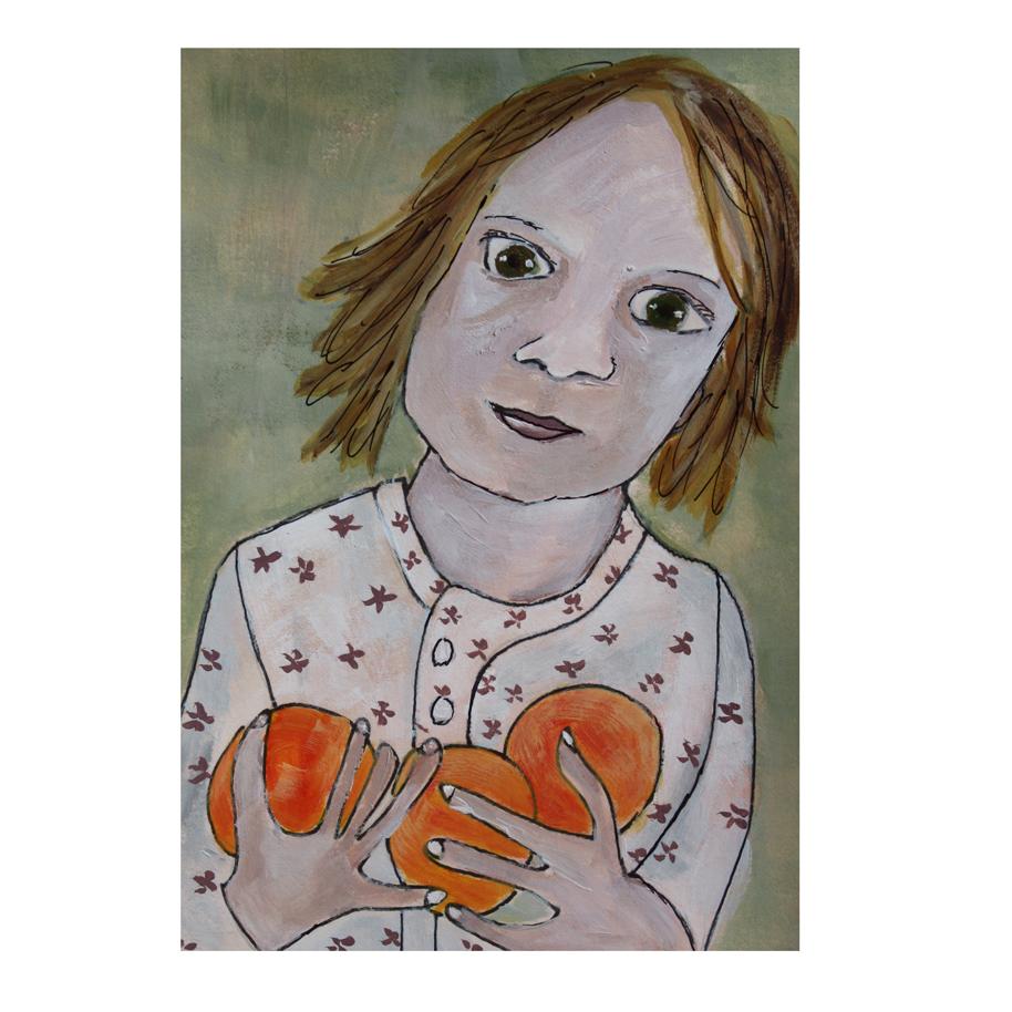 Sophie with Three Oranges.jpg