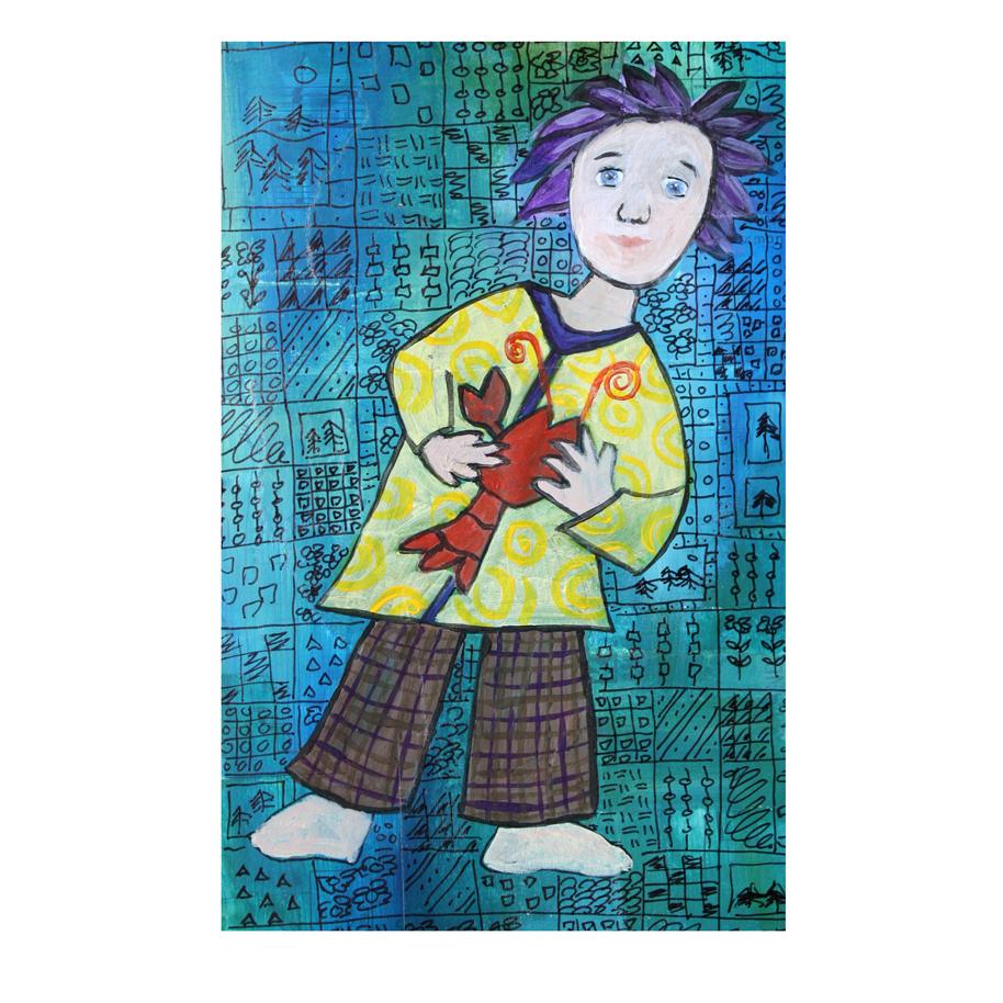 Girl Holding Lobster.jpg