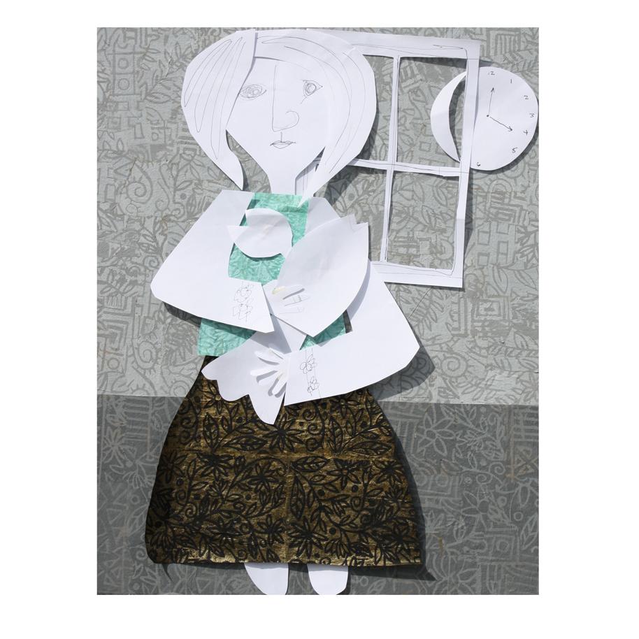 Girl Holding a Lobster (Sketch).jpg