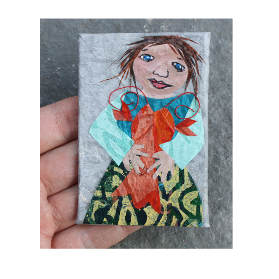 Ginny Refrigerator Art Collage