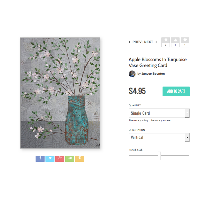 Apple Blossoms in Turquoise Vase.jpg
