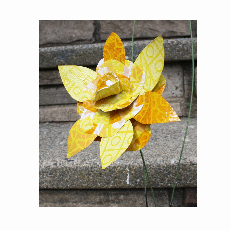 Yellow Paper Collage Flower.jpg