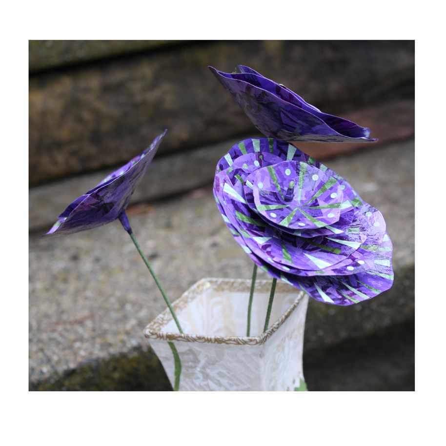 Purple Paper flowers.jpg