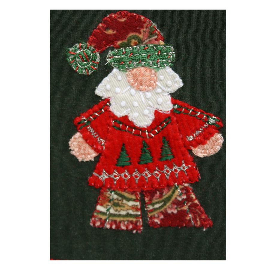 Stitched Fabric Santa Wall Art.jpg