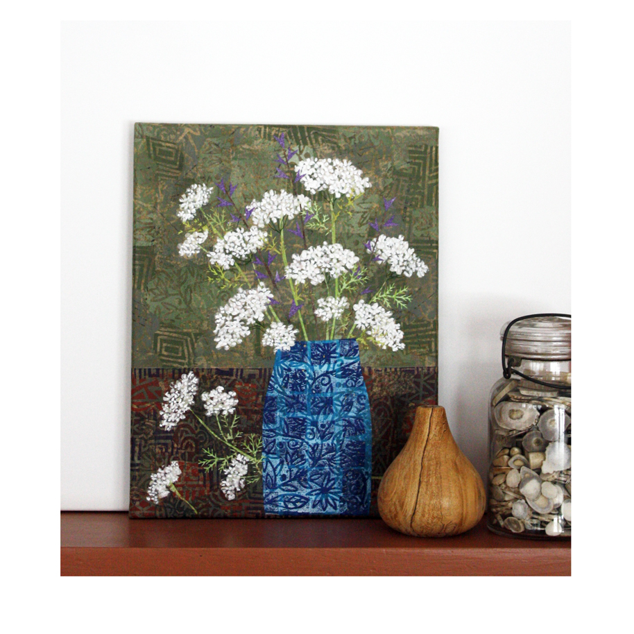 Queen Anne's Lace in Blue Vase Collage.jpg