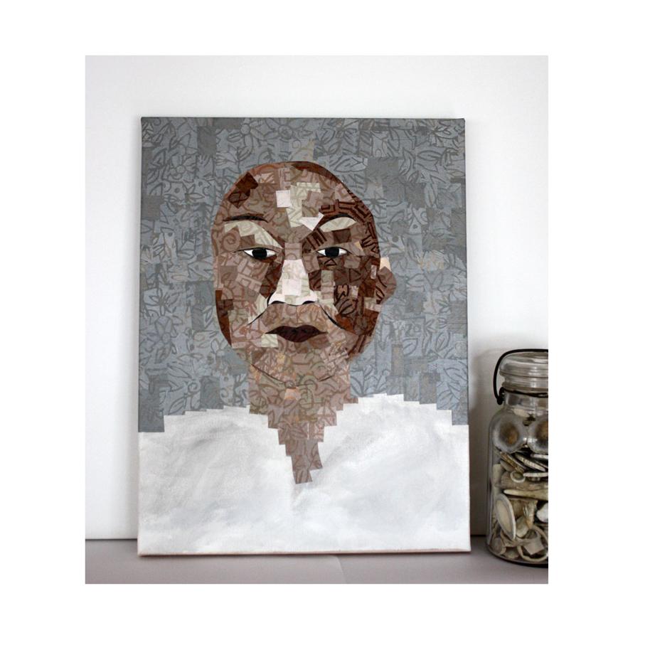 In Honor of Annie Poogoogook collage work in progress.jpg