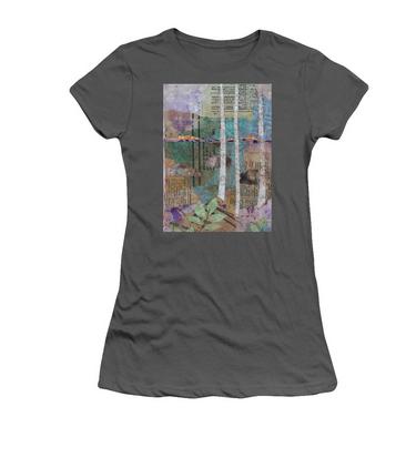 Birches at Sunset T-Shirt.jpg
