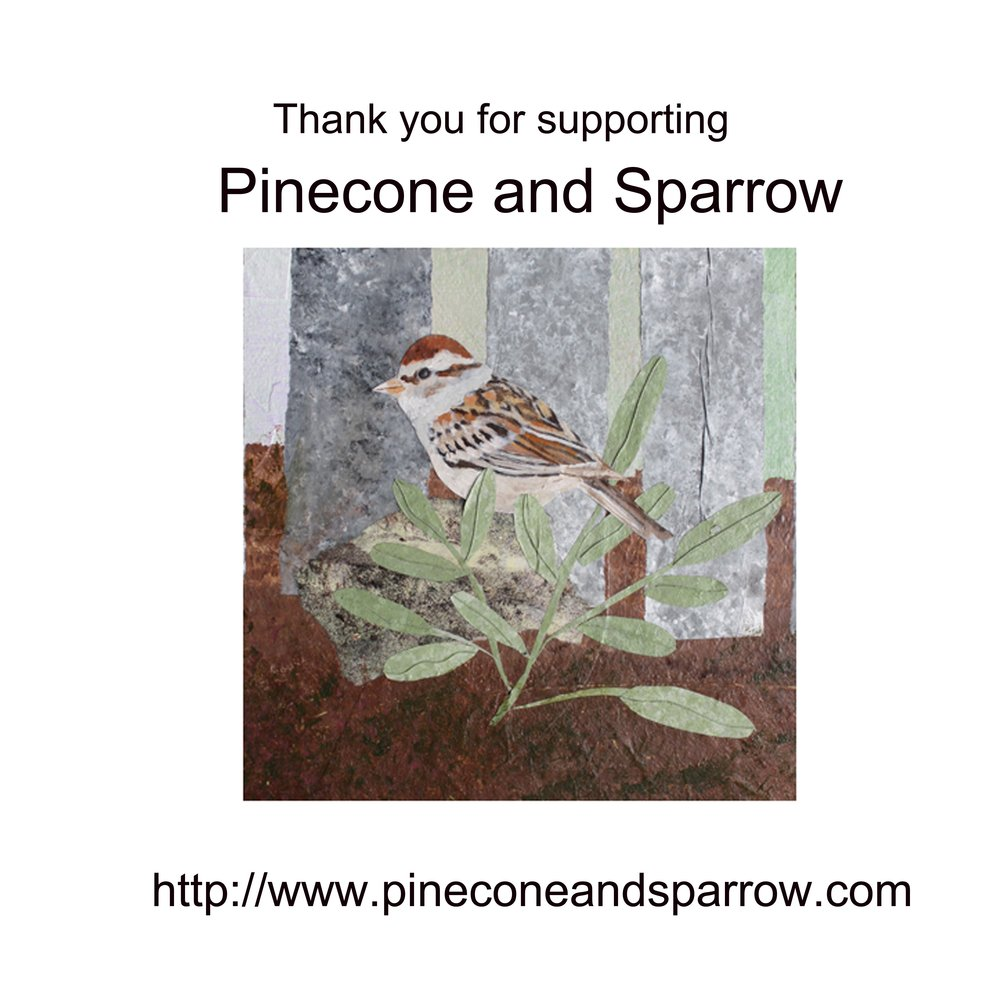 Pinecone and Sparrow Thank You.jpg