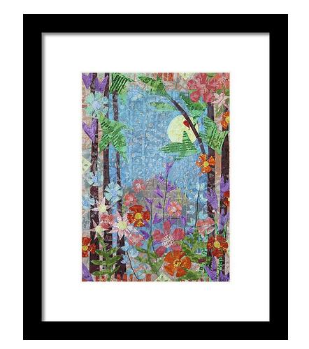 Forest Garden Framed Print. Available here.
