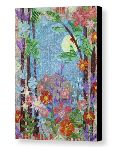 Forest Garden canvas print. Available here.