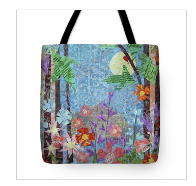Forest Garden Tote Bag. Available here.