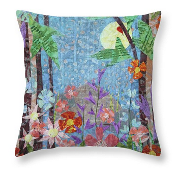 Forest Garden Pillow. Available here.