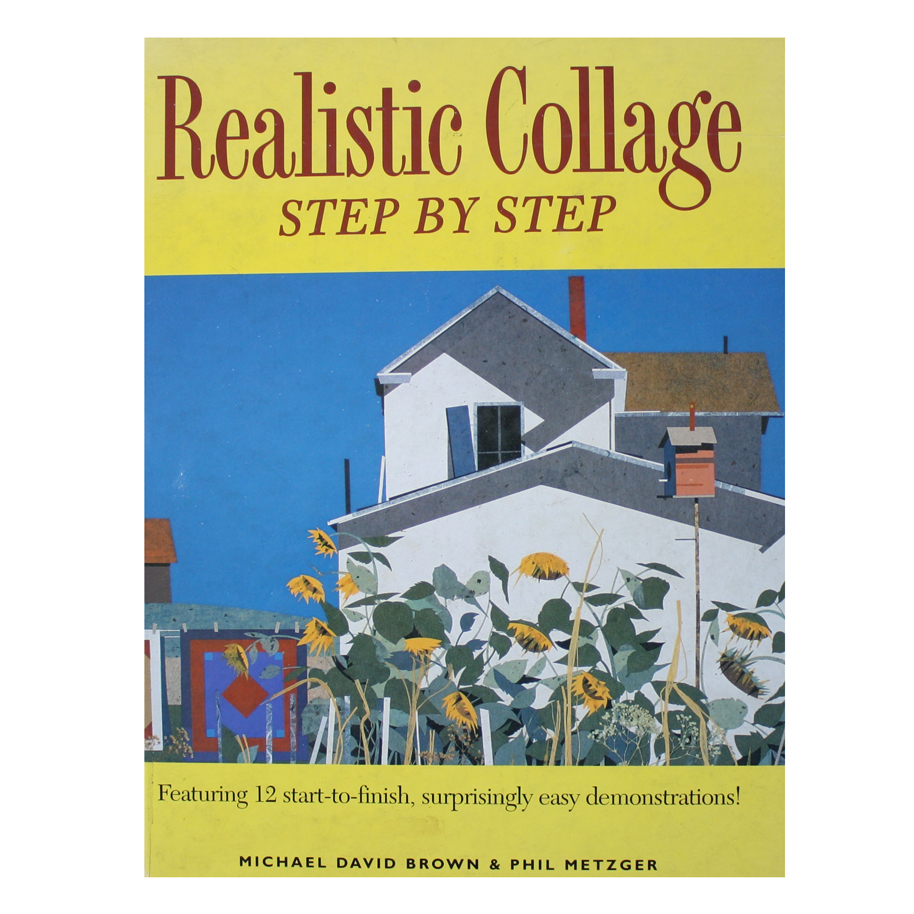 Realistic Collage: Step by step book cover