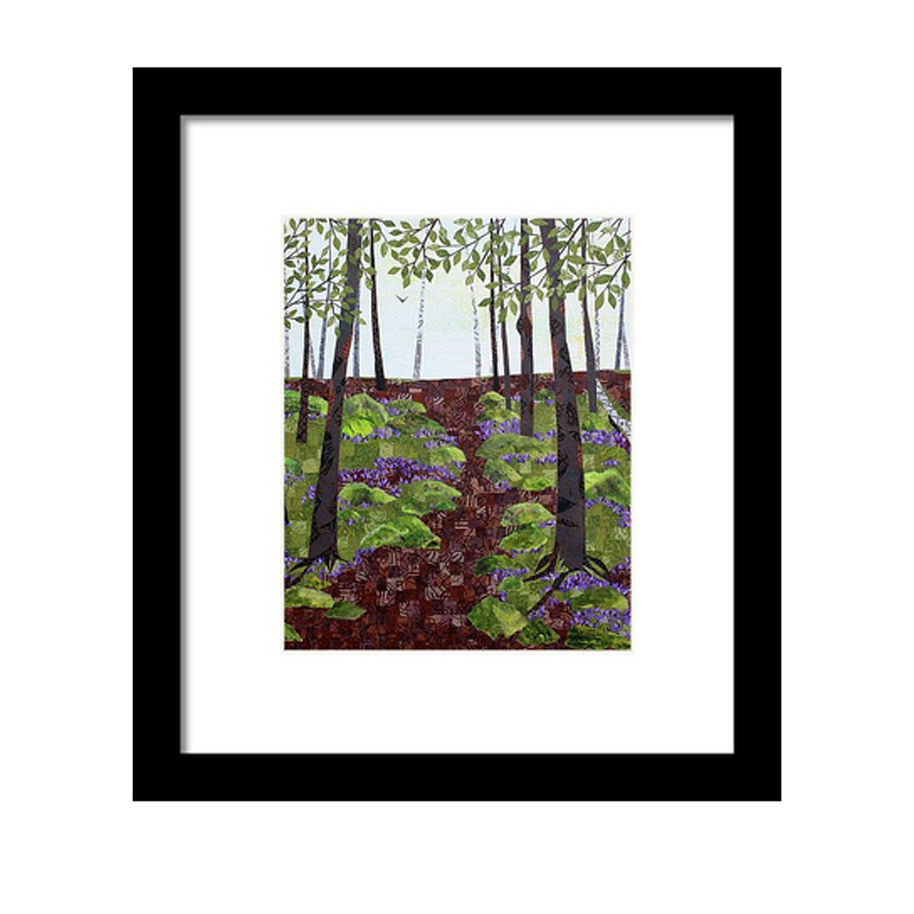 Forest Path Framed Print.jpg