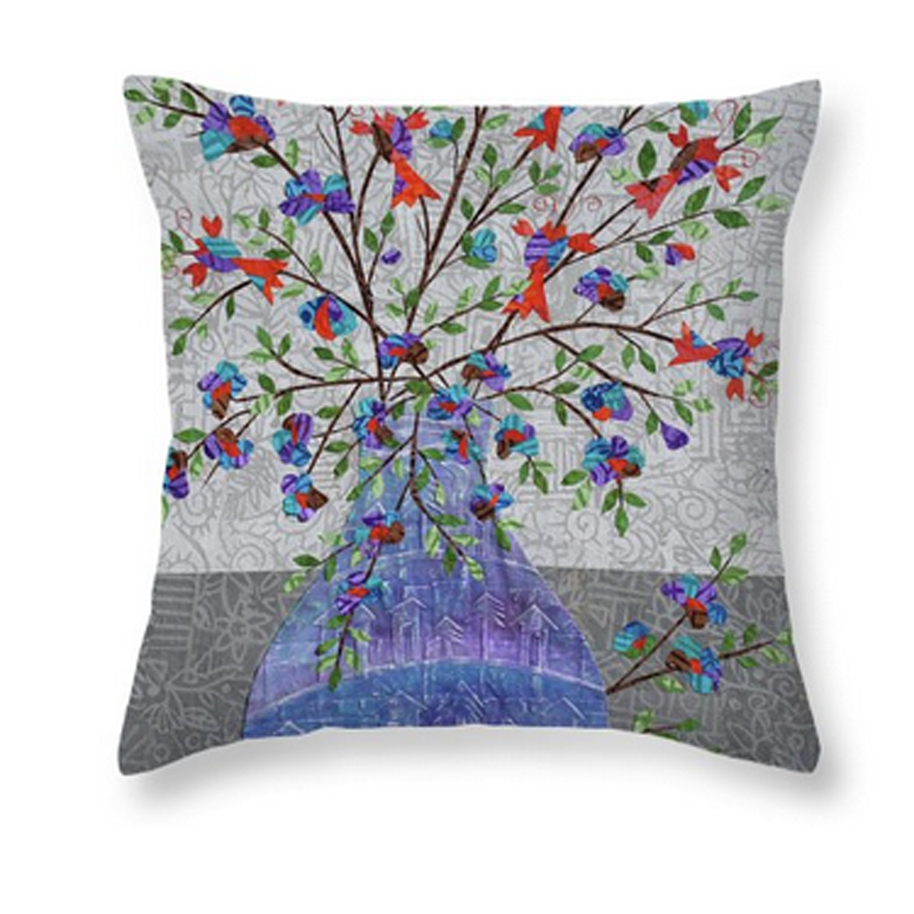 Lobsters in Bloom Pillow.jpg