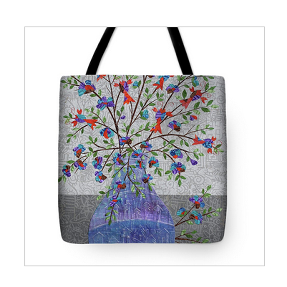 Lobsters in Bloom Tote Bag.jpg