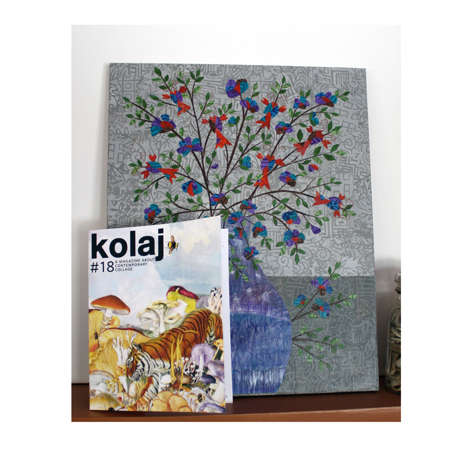 Lobsters in Bloom was featured in the January 2017 issue of Kolaj Magazine (#18)
