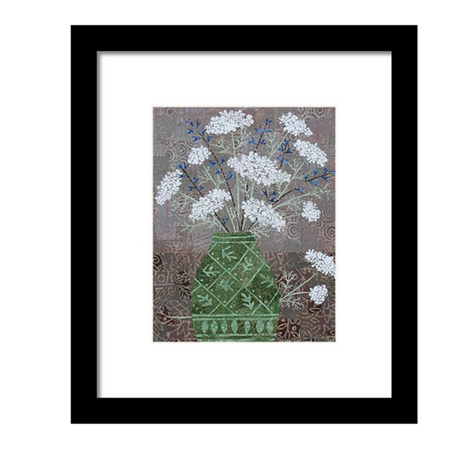 QAL in Green Vase Framed Print.jpg