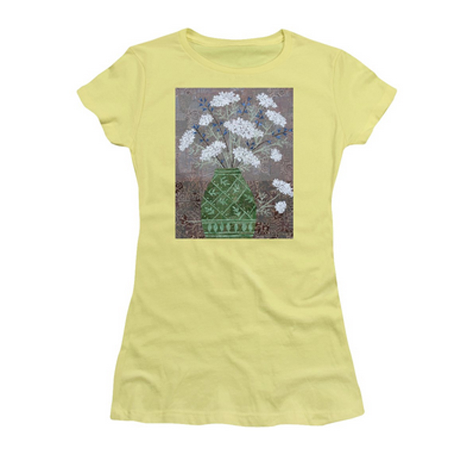 QAL in Green Vase T-shirt.jpg