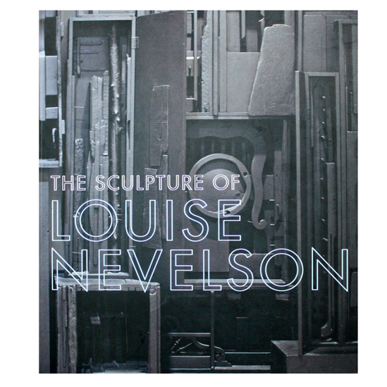 The Sculpture of Louise Nevelson (book cover)