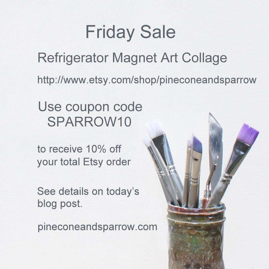 Friday Sale (Etsy)