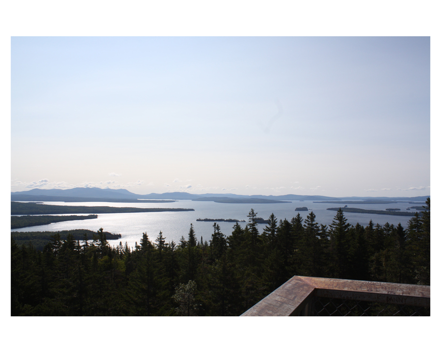 Just part of the view from the fire tower on Mt. Kineo.