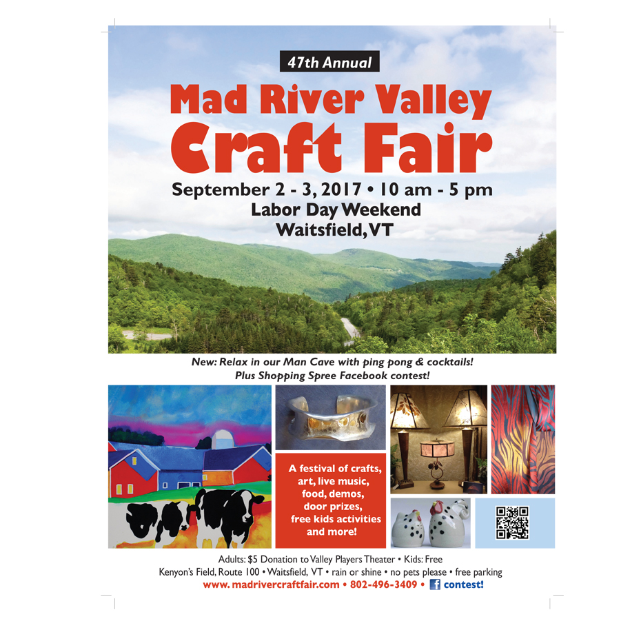 Mad River Valley Craft Fair Poster