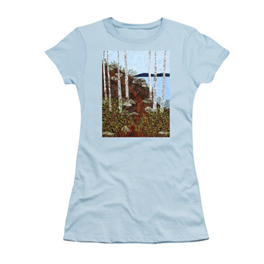Path by the Lake T-shirt.jpg