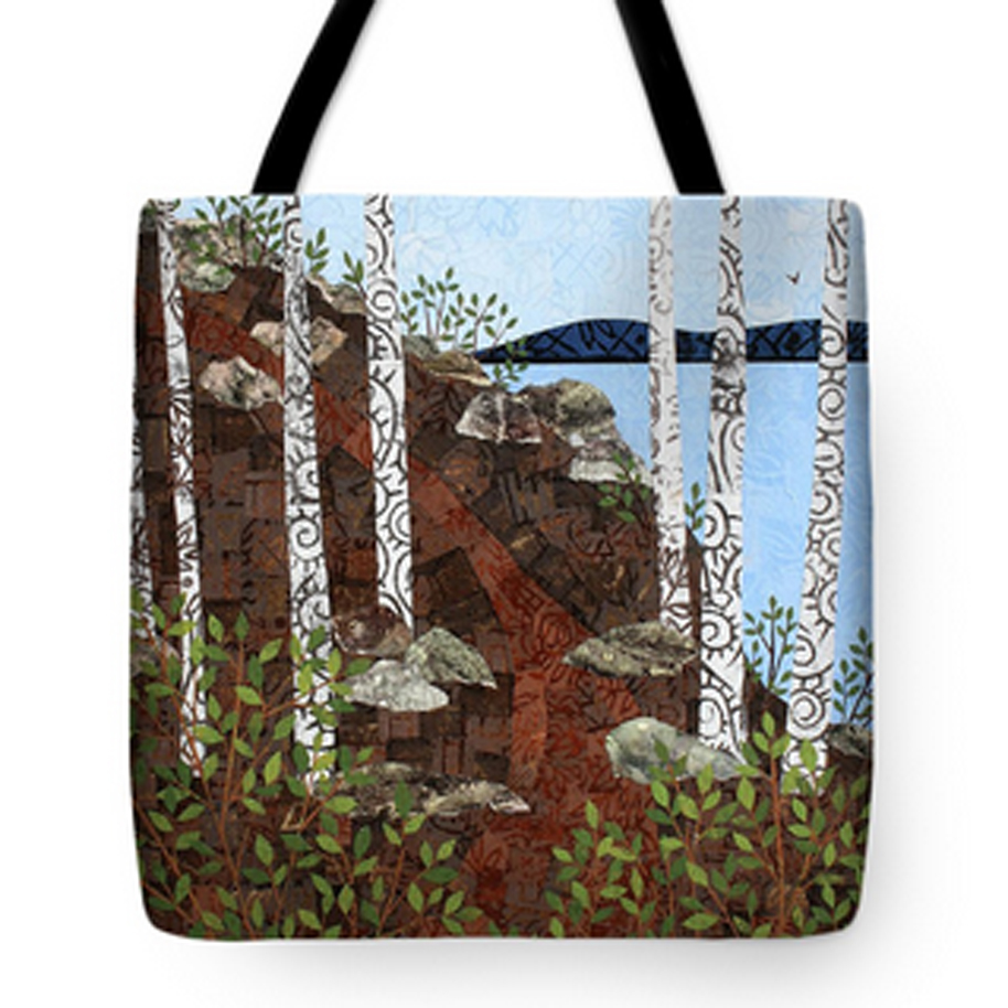 Path by the Lake Tote Bag.jpg