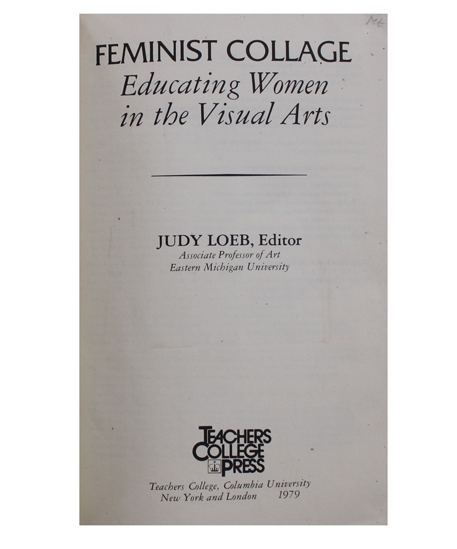 Feminist Collage Title page