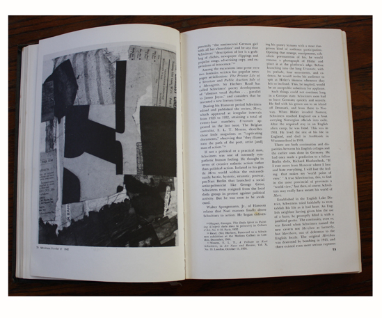 Left: Number 17 (1942) Kurt Schwitters in Collage: Personalities, Concepts, Techniques