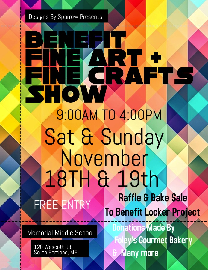 Fine Art and Fine Crafts Benefit Show poster