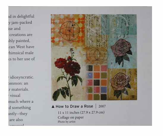 How to Draw a Rose (2007) by Randel Plowman in Masters: Collage