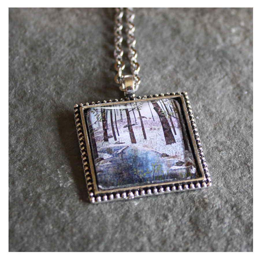Little Stream Pendant Necklace. Available  here .