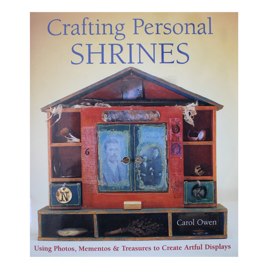 Crafting Personal Shrines (Book Cover)
