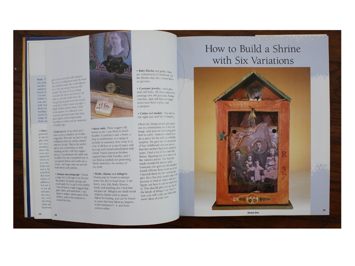 How to Build a Shrine with Six Variations in  Crafting Personal Shrines .