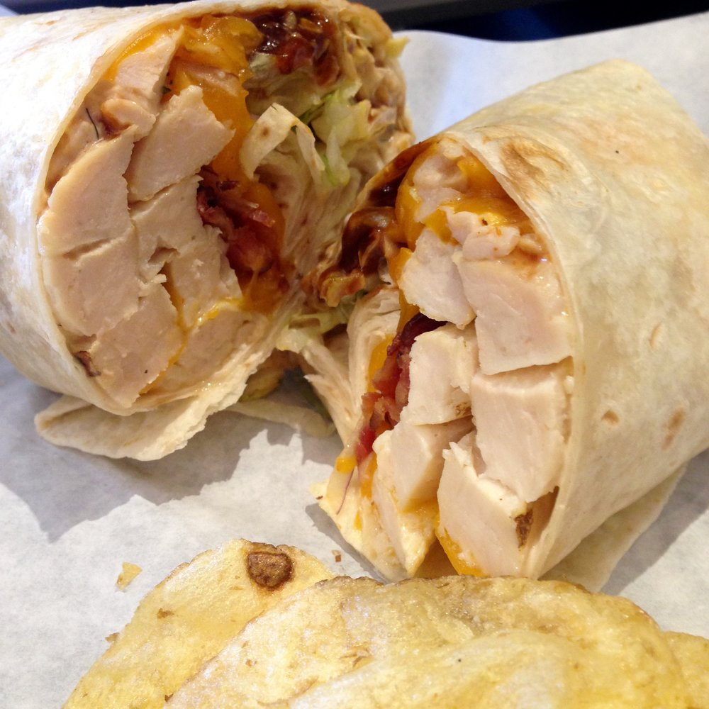 BeeBee Q Chicken Wrap.