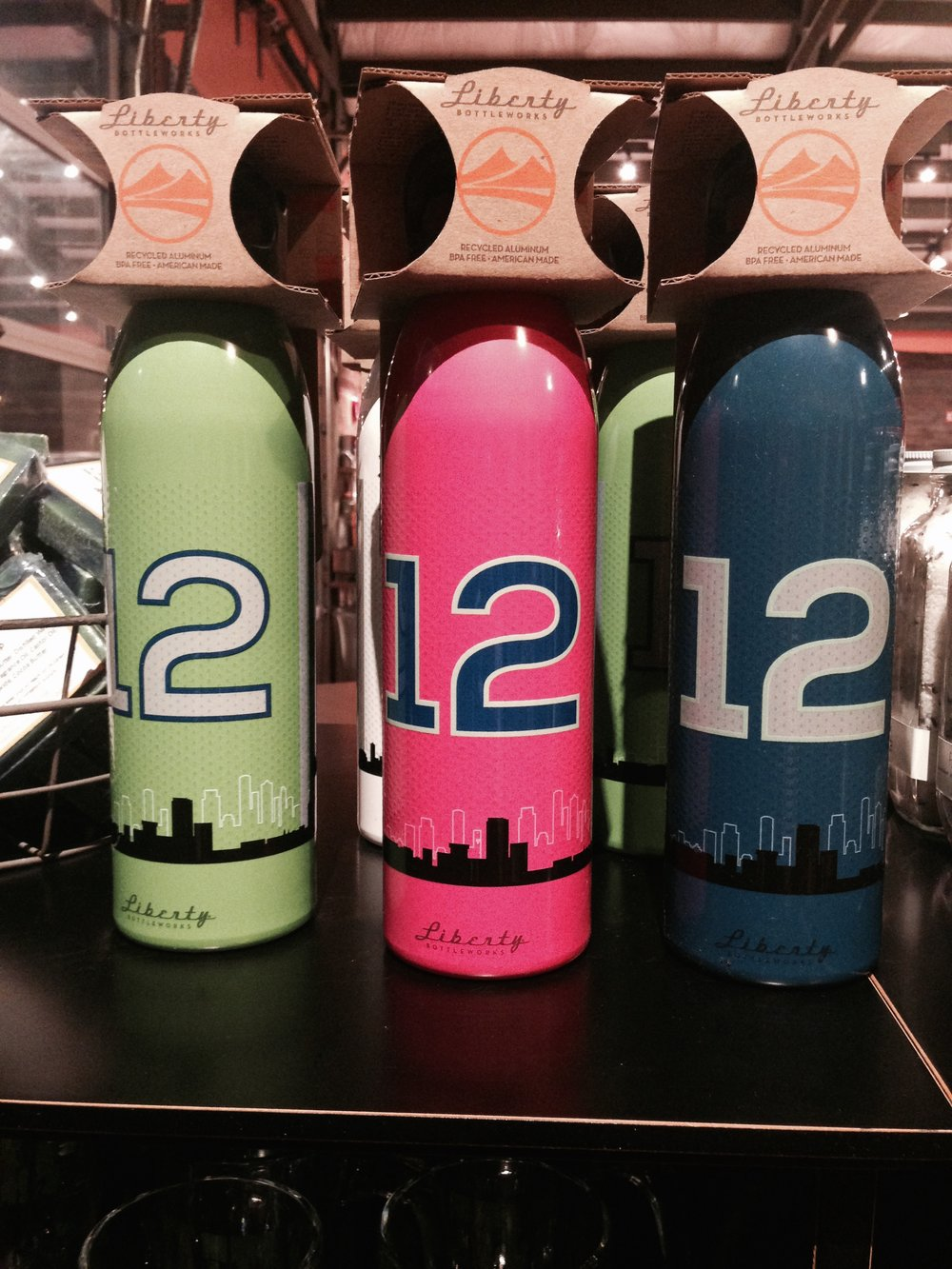 Seahawks Bottles