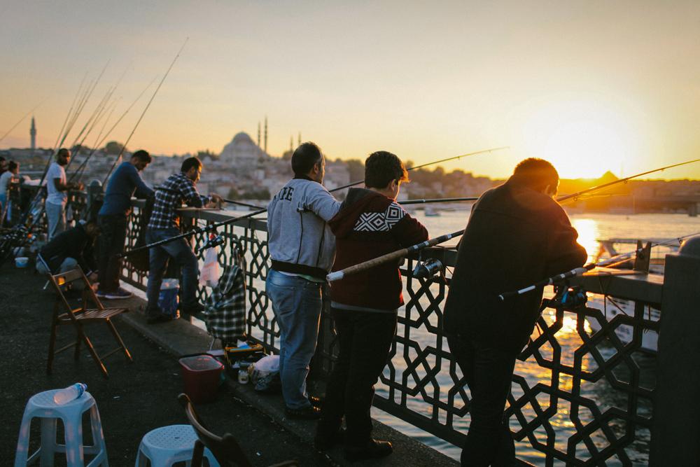 Bridging the Bosphorus Istanbul