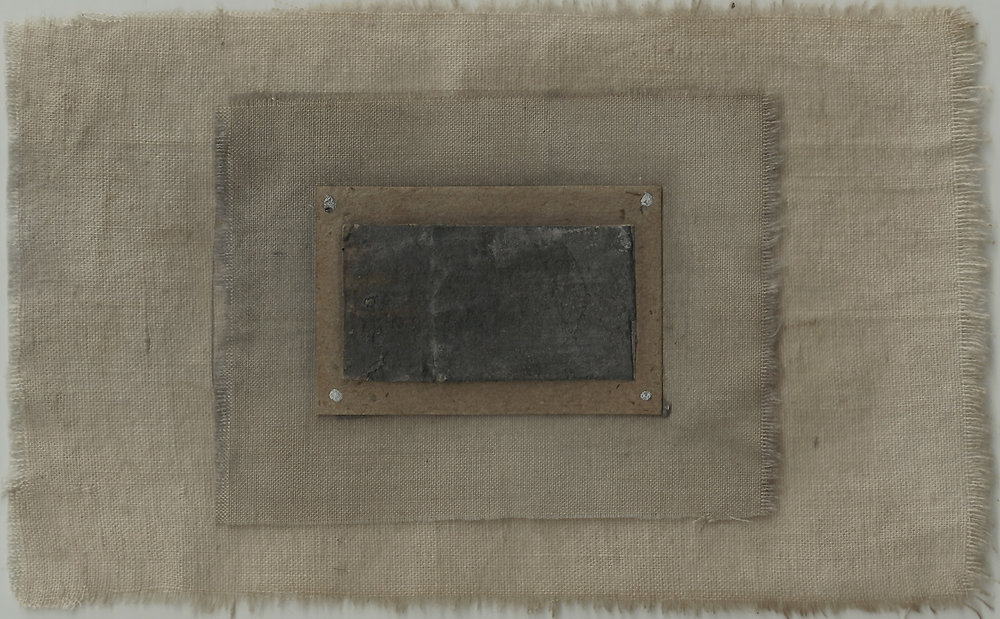 offering 08/16 5.5 x 3.5 inches, paper on cloth