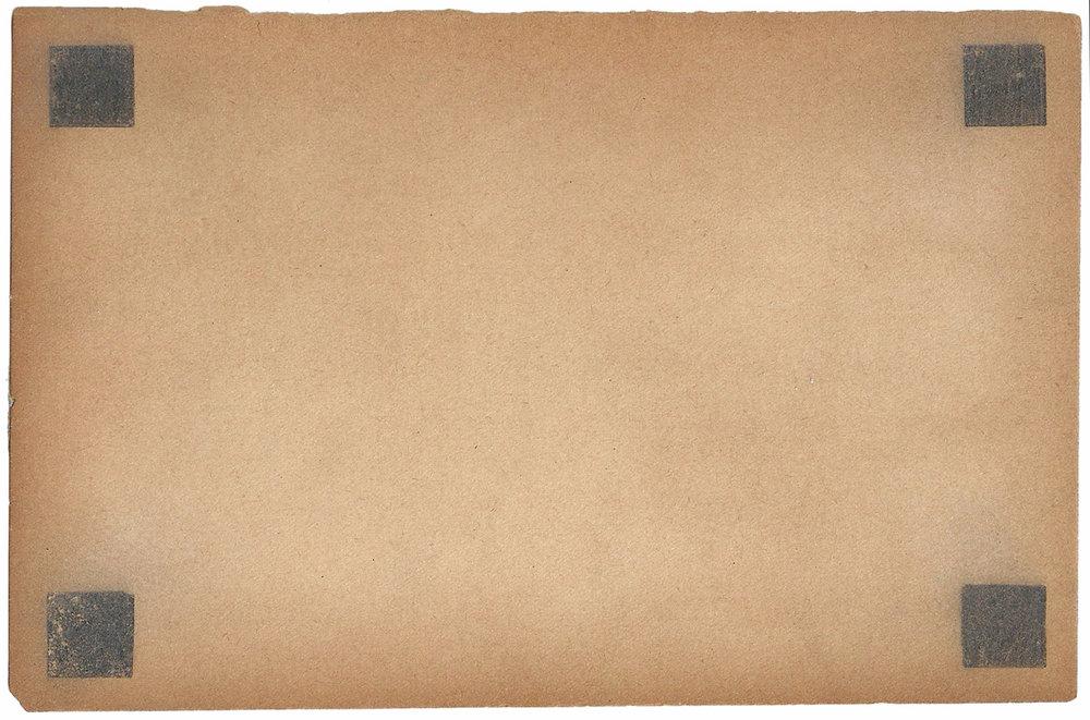 winter letters / credo 12/16 7.5 x 5 inches, paper