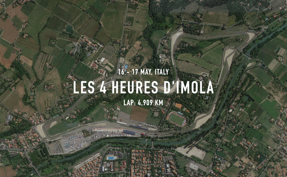 For the third year in a row the ELMS is going back to Imola. Its unusual anticlockwise layout, technical twists and turns place unparalleled demands on the very best drivers. Recently modernised by German circuit architect guru, Hermann Tilke, Imola's rich racing heritage in both F1 and endurance racing make this circuit a gem of any motor racing calendar.         Address: Via F.lli Rosselli 2, 40026 Imola     Tel: +39 054234116      info@autodromoimola.it        www.autodromoimola.com